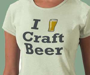 I [beer] Craft Beer Shirt