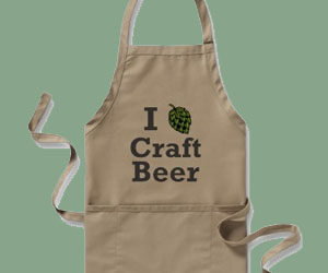 I [hop] Craft Beer Apron